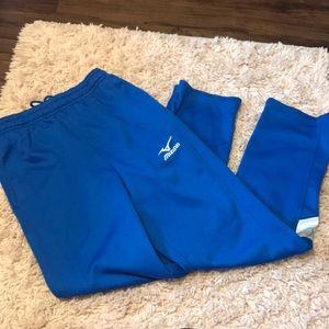 Blue Mizuno Sweats